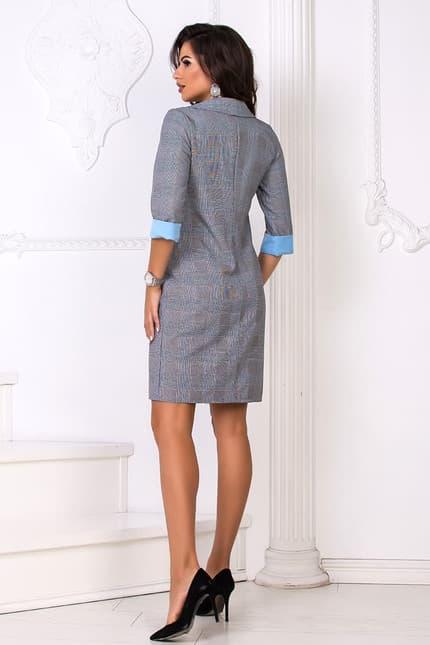 Повседневное платье 8156e, фото 3