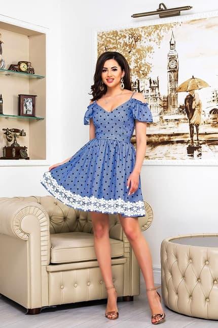 Повседневное платье 9086e, фото 1