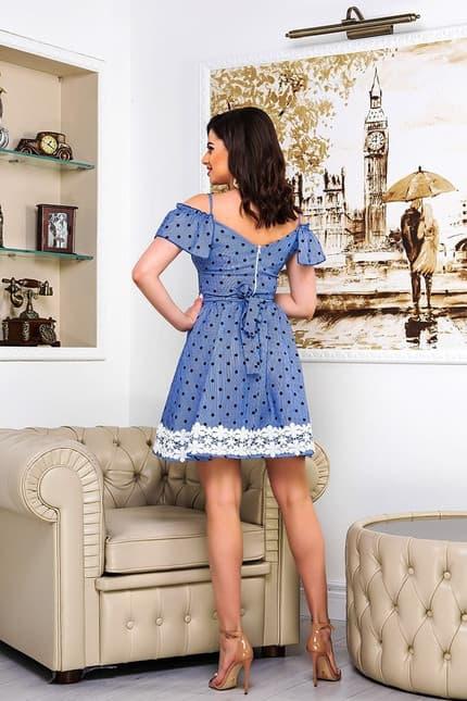 Повседневное платье 9086e, фото 2
