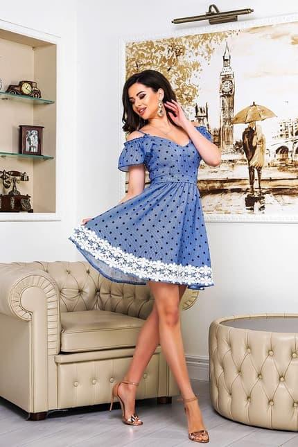 Повседневное платье 9086e, фото 3