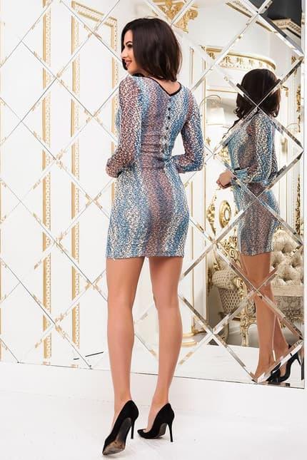 Повседневное платье 4399e, фото 3