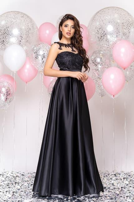Вечернее платье с декорированной спиной, фото 3