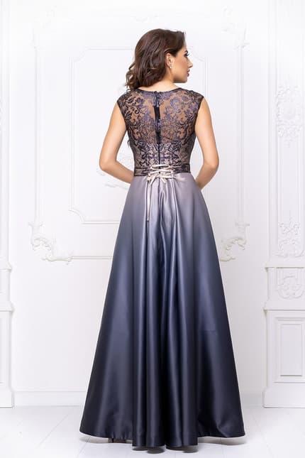 Вечернее платье с градиентом, фото 2