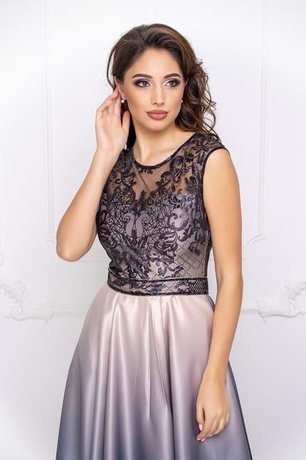 Вечернее платье с градиентом, фото 5
