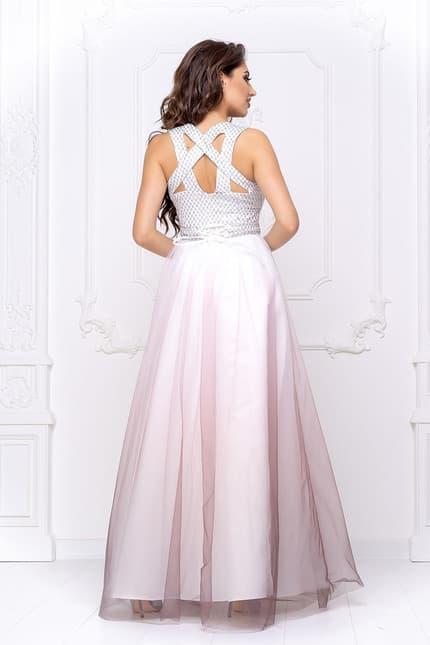 Вечернее платье с фатином, фото 2