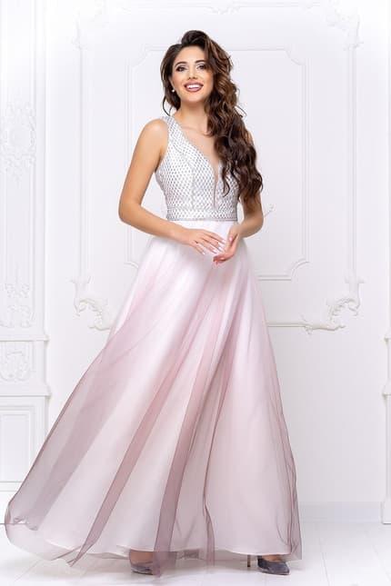 Вечернее платье с фатином, фото 3