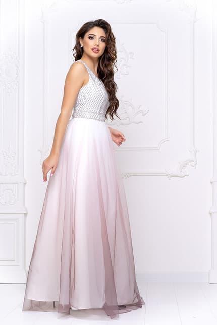 Вечернее платье с фатином, фото 4