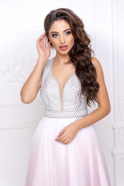 Вечернее платье с фатином, фото 5