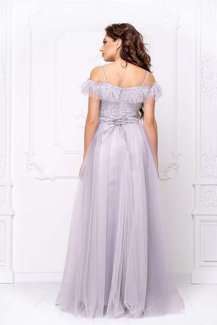 Вечернее платье с открытыми плечами, фото 2
