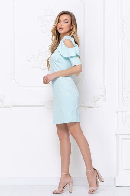 Повседневное платье 7020e, фото 3