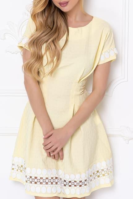 Повседневное платье 7057e, фото 2