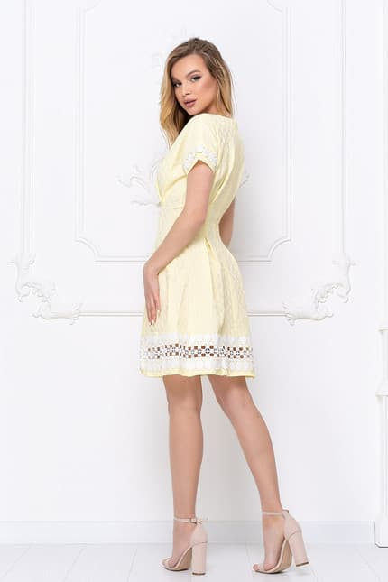 Повседневное платье 7057e, фото 3