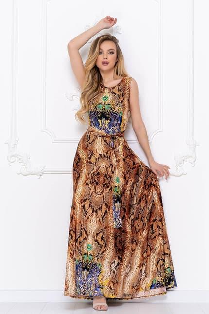 Вечернее платье Питон, фото 1