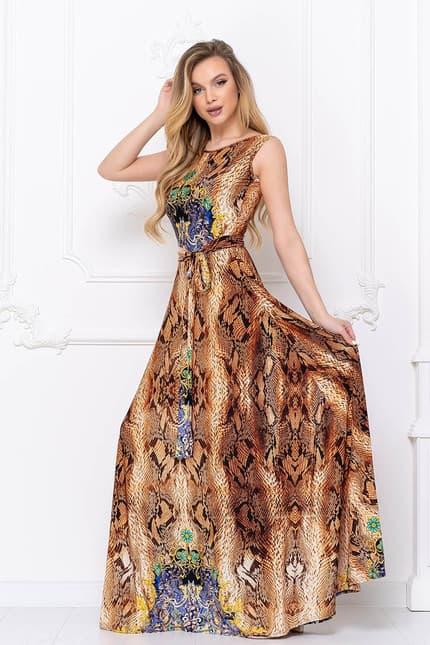 Вечернее платье Питон, фото 3