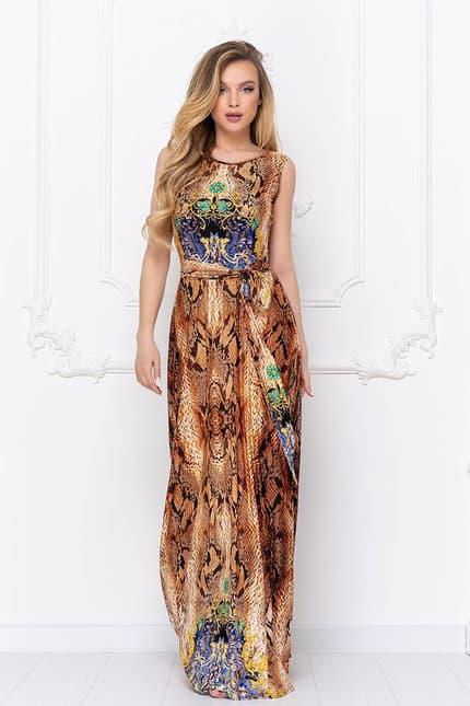 Вечернее платье Питон, фото 4
