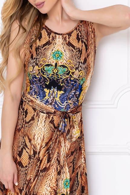 Вечернее платье Питон, фото 5