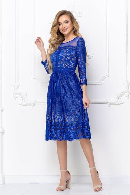 Коктейльное платье 8137e, фото 3